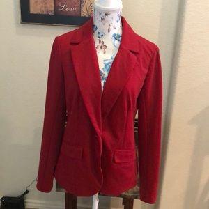 Size 6 Red Blazer